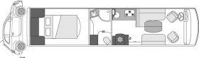 Camping-car de luxe Le Voyageur Liner - 1050QD CAR